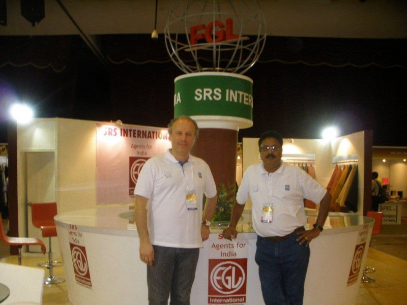 FGL International alla India International Leather Fair.