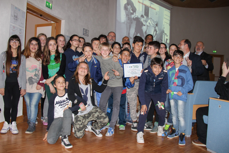 Classe vincitrice - 1 C Istituto Galileo Galilei di Montopoli