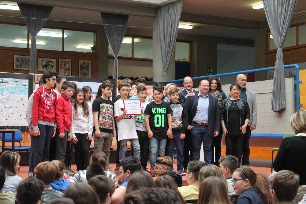 classe 1^ B per la scuola media di Montopoli Val d\'Arno, Istituto G. Galilei