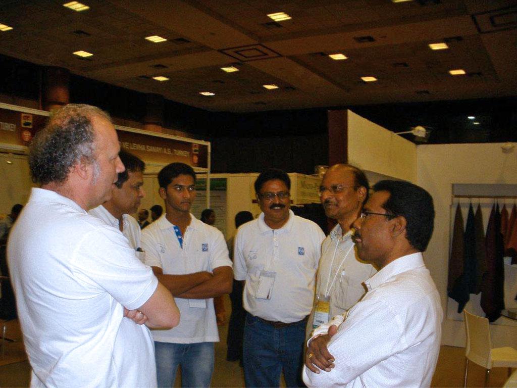 FGL International alla India International Leather Fair.