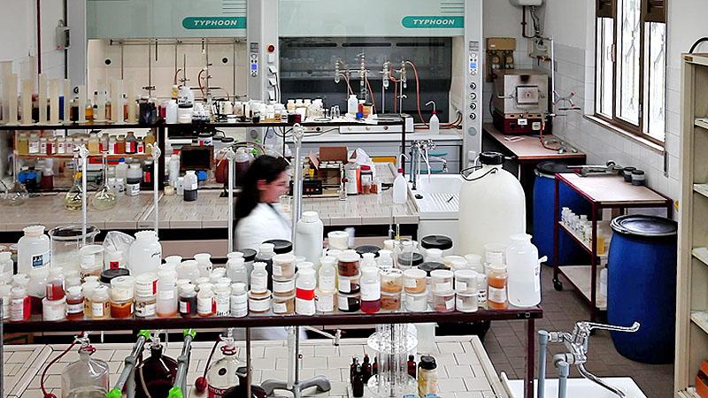 Panoramica del laboratorio.